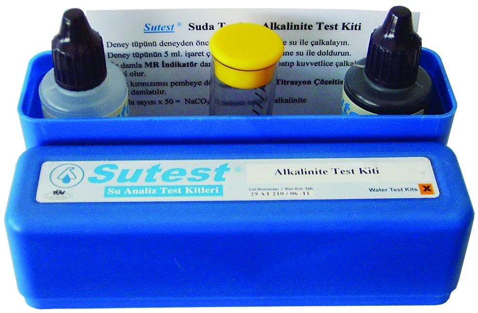 SUTEST Alkalinite Test Kiti