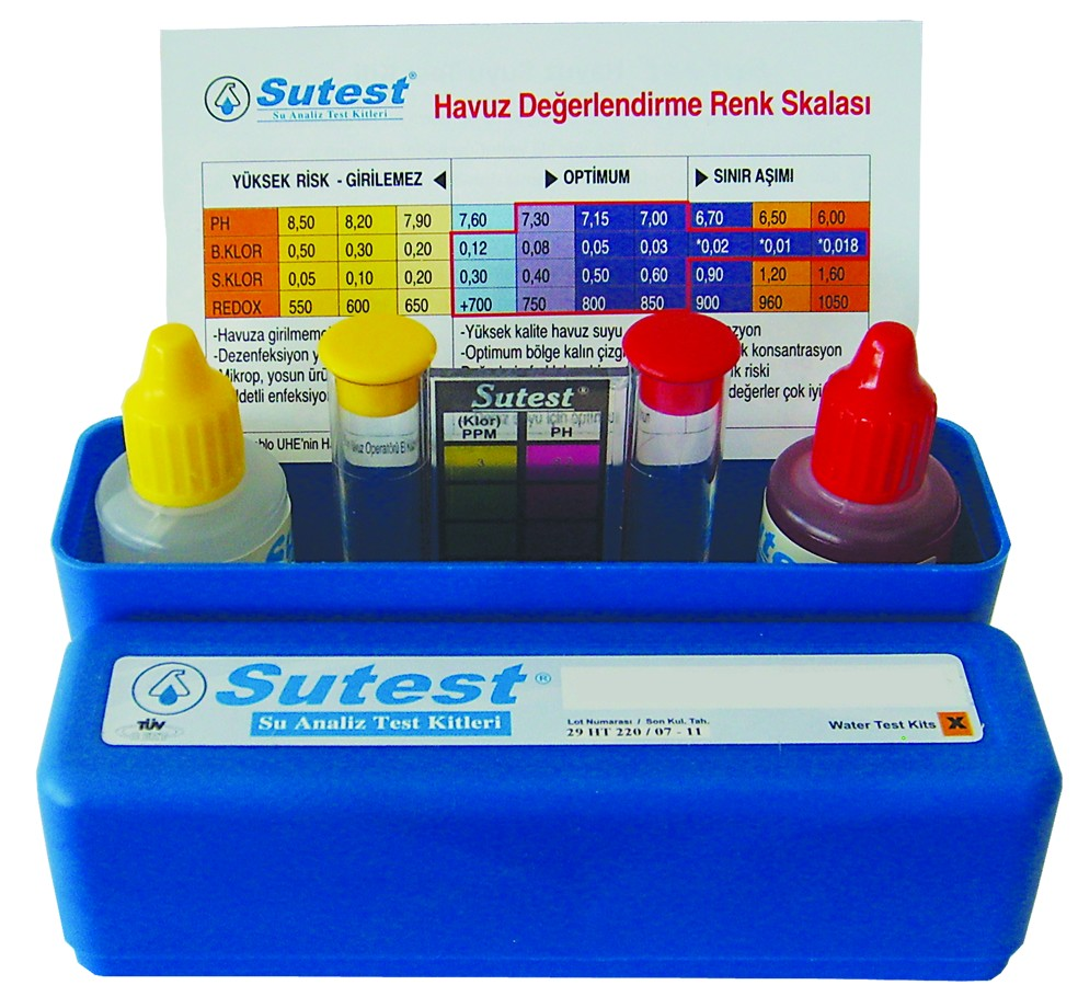 SUTEST Klor-pH Test Kiti